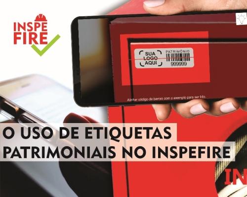 O USO DE ETIQUETAS PATRIMONIAIS NO INSPEFIRE